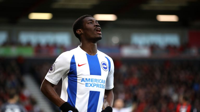 Yves Bissouma is yet to score for Brighton in 16 Premier League appearances