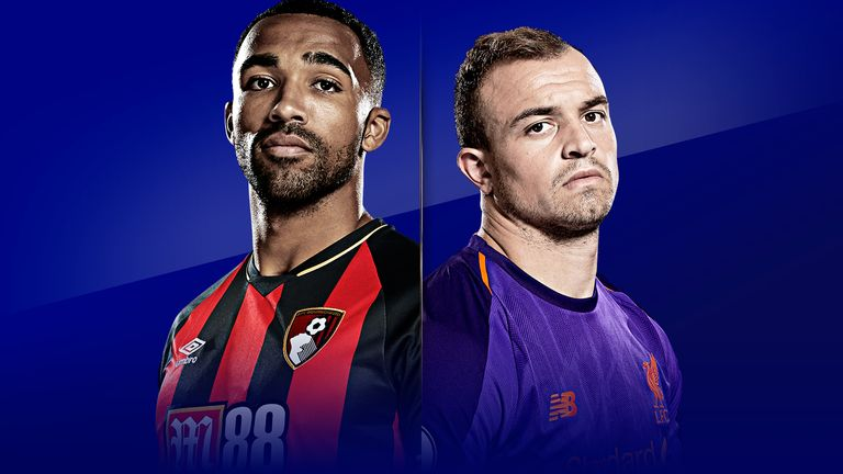 Bournemouth v Liverpool is live on Sky Sports from 11.30am on Saturday