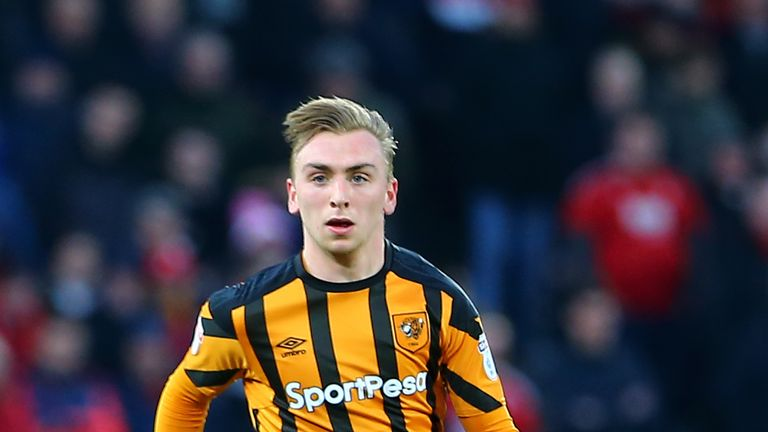 Tottenham and Burnley have sent scouts to watch Hull winger Jarrod Bowen