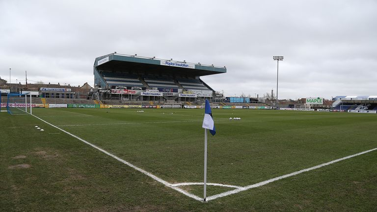 A Bristol Rovers ball boy was allegedly spat at after Doncaster Rovers' win at Memorial Stadium