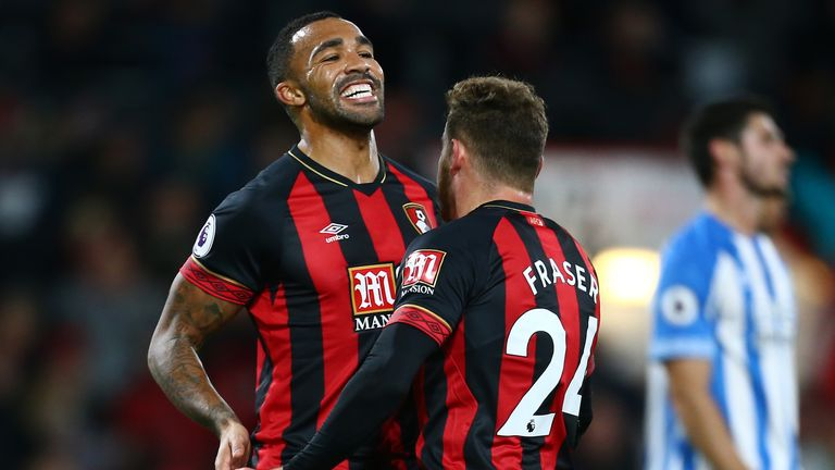 Callum Wilson has scored 10 goals in 19 games in all competitions this season