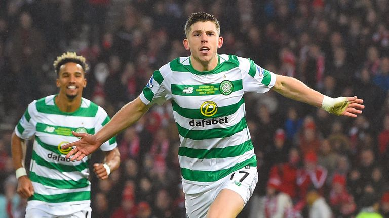Celtic's Ryan Christie named Scottish Premiership player of the month | Football News |