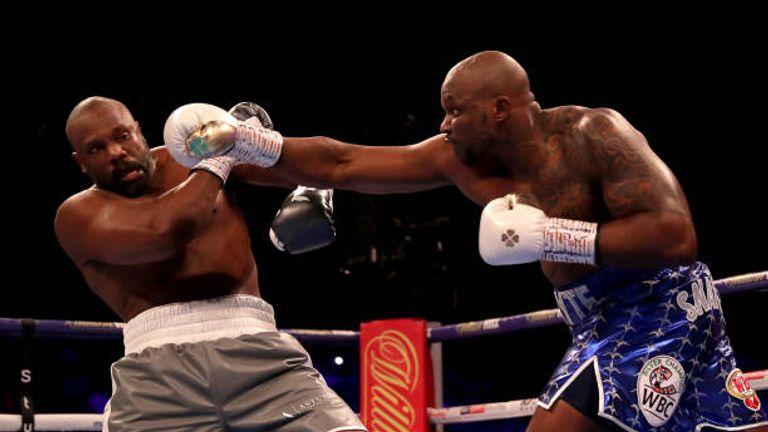 Whyte has twice beaten Chisora