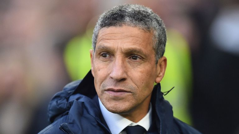 Chris Hughton has enjoyed a good run of results