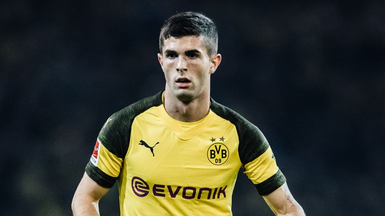 Christian Pulisic has 18 months left on his contract at Borussia Dortmund