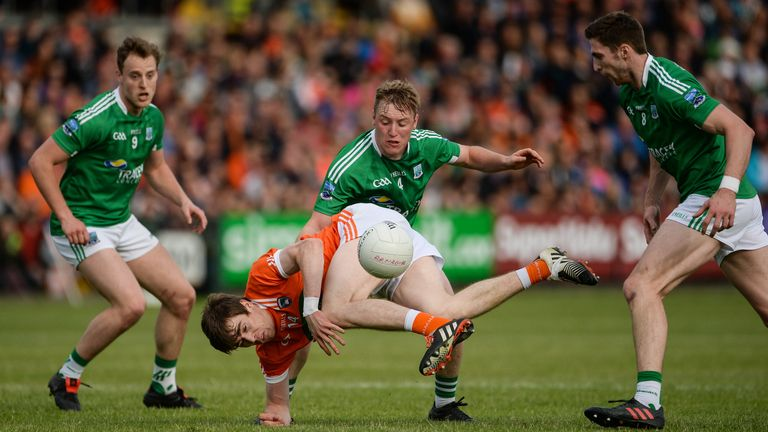 McManus was part of the Fermanagh team that reached the Ulster final in 2018