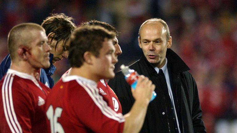 Woodward's 2005 tour in charge of the Lions to New Zealand ended in a 3-0 series defeat
