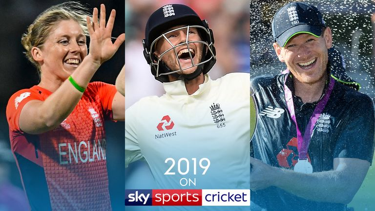 Watch the Ashes, Women's Ashes and World Cup on Sky Sports Cricket in 2019