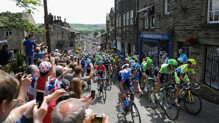 Millions of fans were at the roadside when Yorkshire hosted the Grand Depart of the Tour de France in 2014