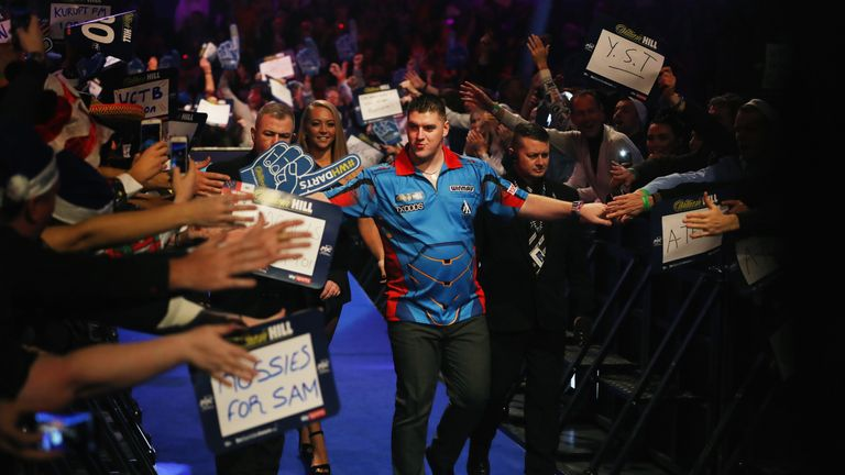 Daryl Gurney is aiming to recreate his top for at the Alexandra Palace this month