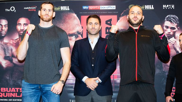 David Price faces Tom Little at The O2 on Saturday night