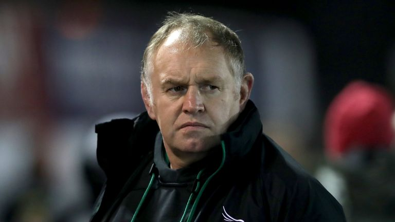 Dean Richards has returned to elite-level rugby to coach Newcastle Falcons