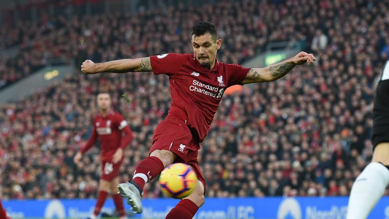 Lovren's goal was his first since scoring against Brighton on the last day of 2017/18