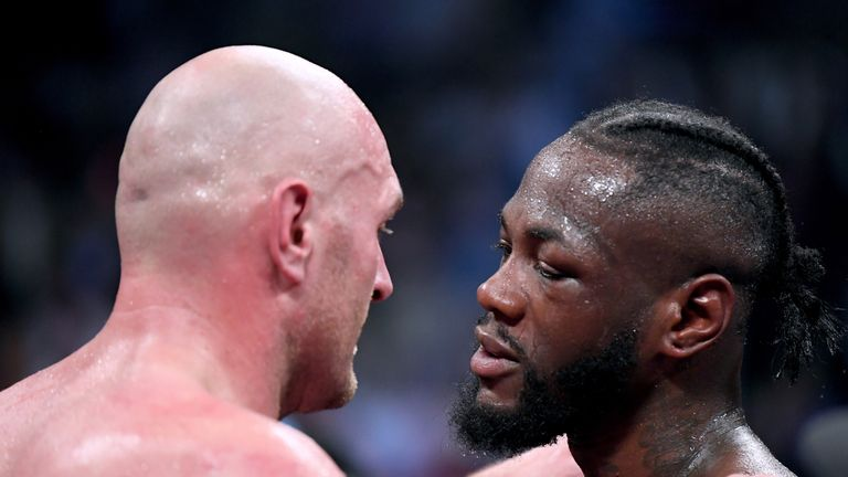 Deontay Wilder welcomes Tyson Fury rematch after draw | Boxing News |