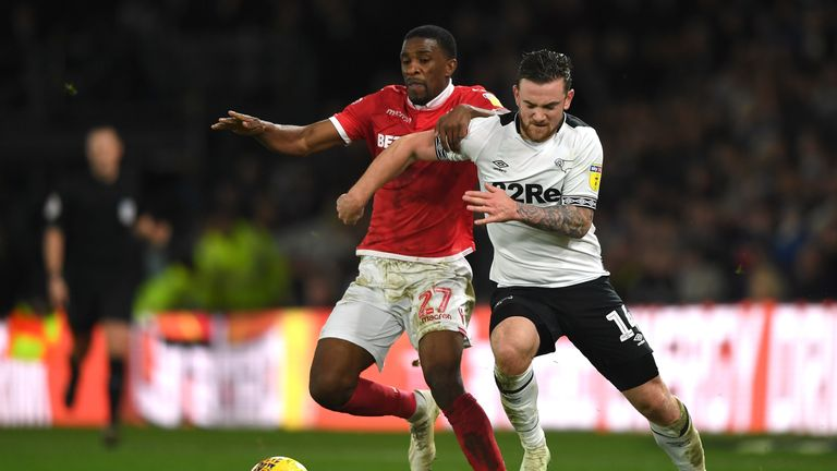 Nottingham Forest and Derby will meet in the second round
