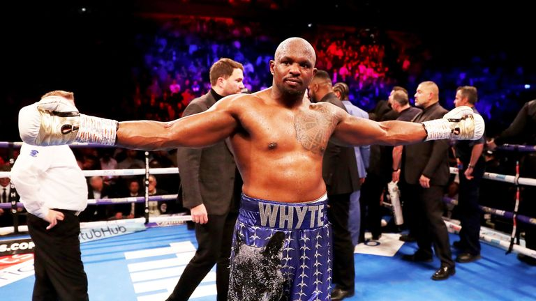 Dillian Whyte could be within touching distance of a world title fight
