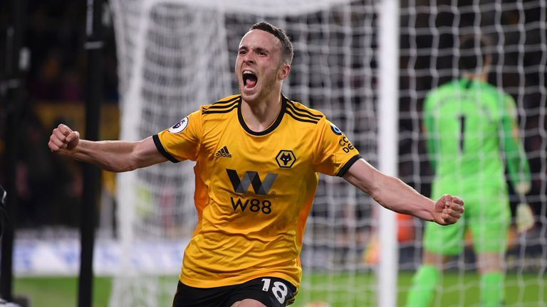 Watch highlights from Wolves' 2-1 win over Chelsea in the Premier League