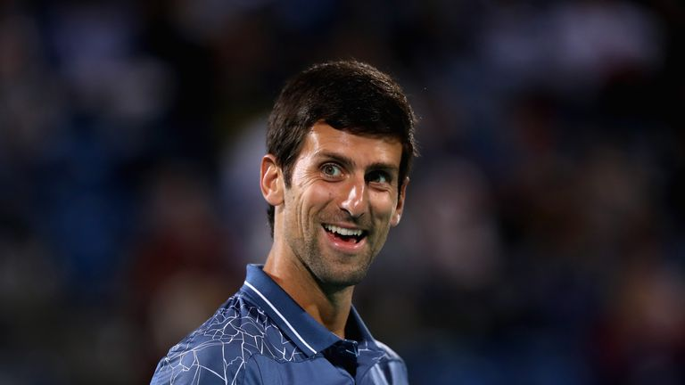 Novak Djokovic says the 'big four' remain Grand Slam favourites