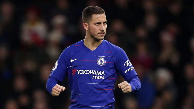Hazard has netted three in four for Chelsea