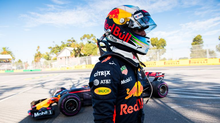 Daniel Ricciardo walks away from his broken-down Red Bull during the season-opening Australian GP. Midway through the season, Ricciardo would stun the paddock by walking away from Red Bull too. Picture by Kalisz, Sutton Images.