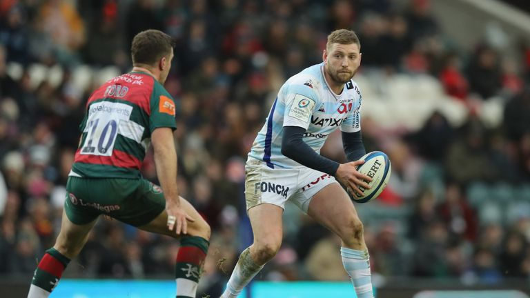 Russell will return to Racing 92 for Sunday's Top 14 game against Toulouse