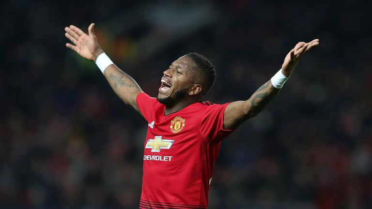 Fred has been left frustrated by a lack of game time since joining Manchester United