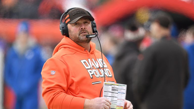 This is the first time Freddie Kitchens has been given a head coach role