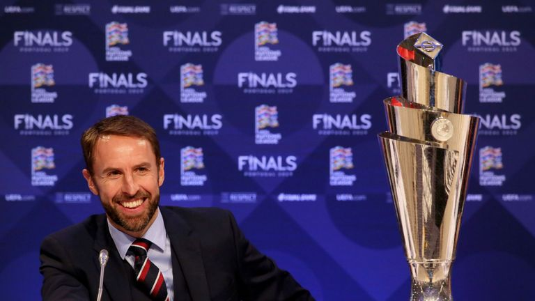 Southgate says it is an honour to be in charge of the England team