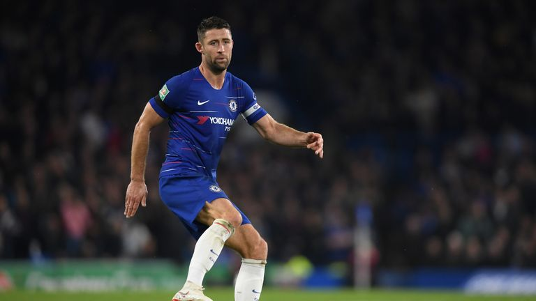 Gary Cahill's Chelsea contract expires in the summer