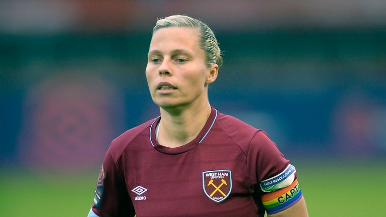 Gilly Flaherty has skippered West Ham Women to sixth spot in the Super League table