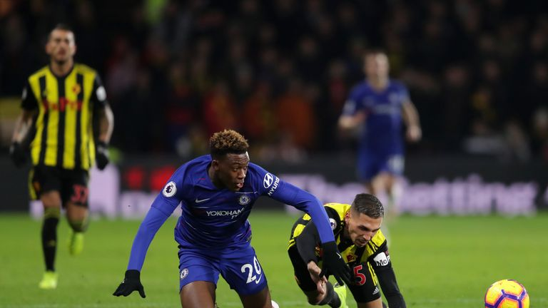 Hudson-Odoi has struggled for first-team opportunities under Maurizio Sarri