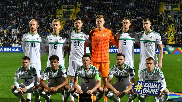 Northern Ireland begin their qualifying campaign against Estonia