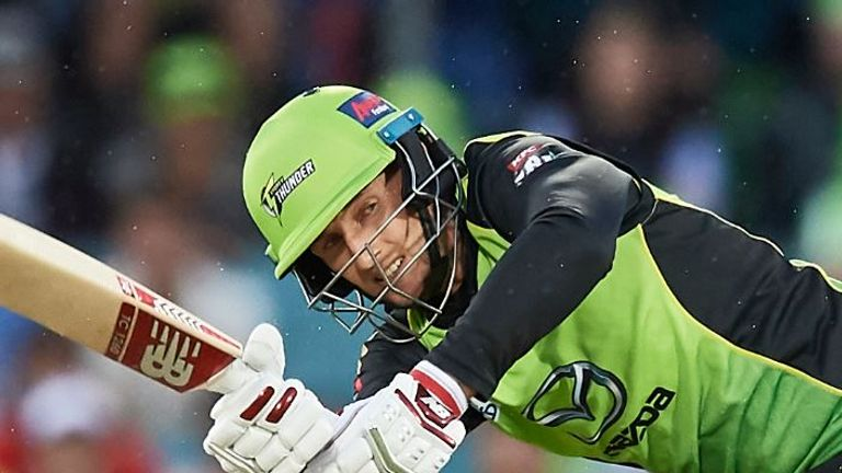 Joe Root had a top score of 26 in seven Big Bash innings