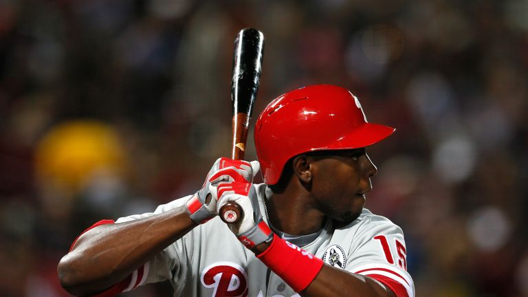 John Mayberry Jr is one of two generations of his family to make it to the major league