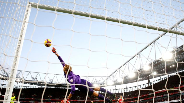Jonas Lossl could be in the thick of it against Southampton