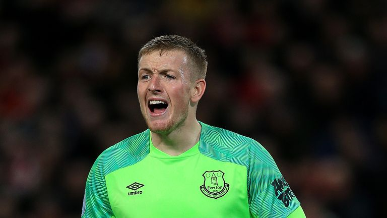 Jordan Pickford says he'll come back stronger after Liverpool error | Football News |