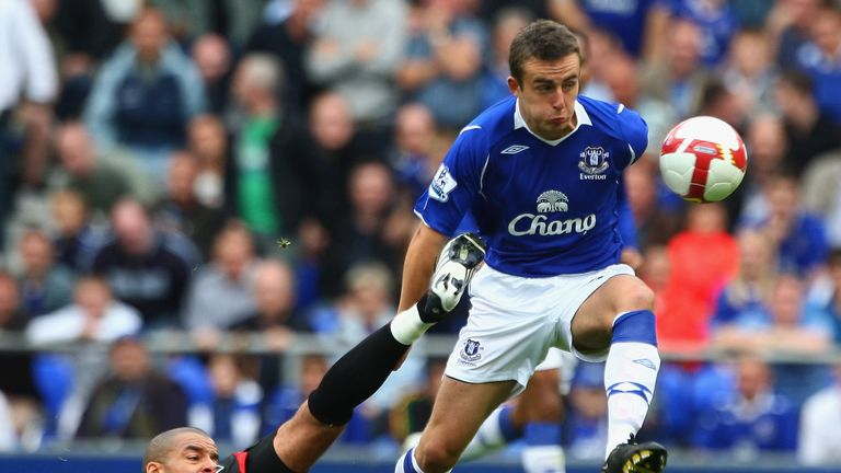 Jose Baxter began his career at Everton