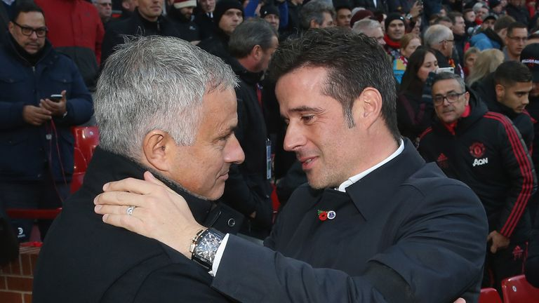 Jose Mourinho will come back stronger, says Marco Silva