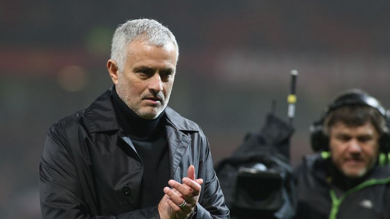 Jose Mourinho's side are now four Premier League games without a win