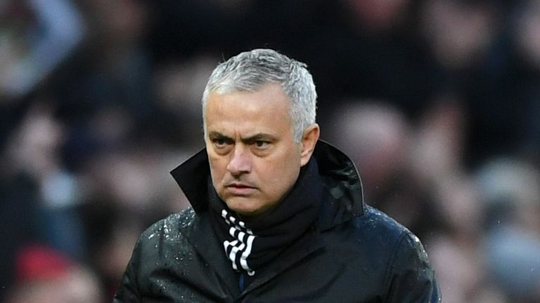 Jose Mourinho was replaced by caretaker boss Ole Gunnar Solskjaer