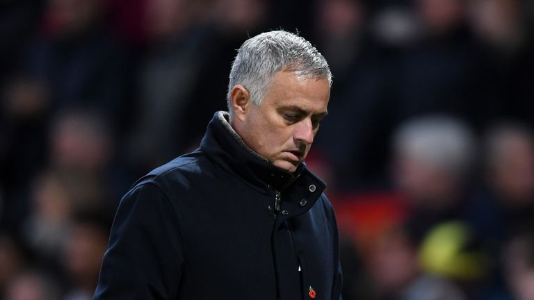 Jose Mourinho was sacked as United manager in December