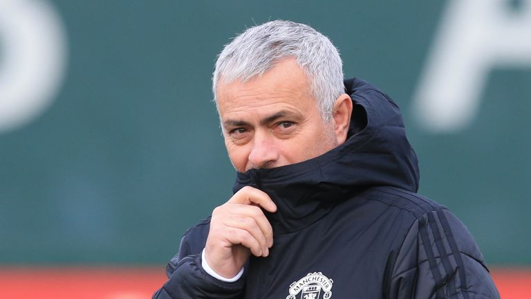 Jose Mourinho has seen his side slip to sixth place in the Premier League