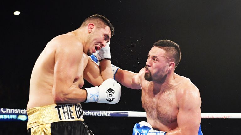 Dereck Chisora and Joseph Parker in talks over potential 2019 bout