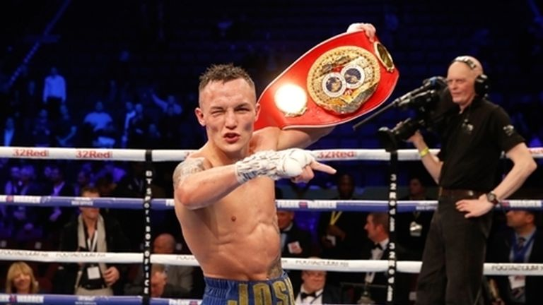Josh Warrington won his first defence in style