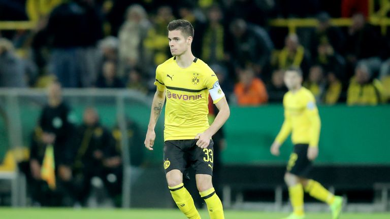 Julian Weigl could be on his way to the Premier League
