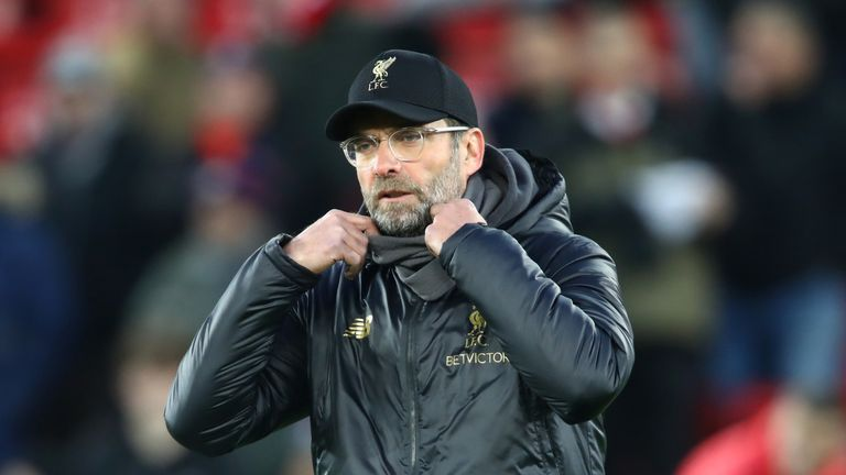 Jurgen Klopp is eyeing another Saturday 3pm victory