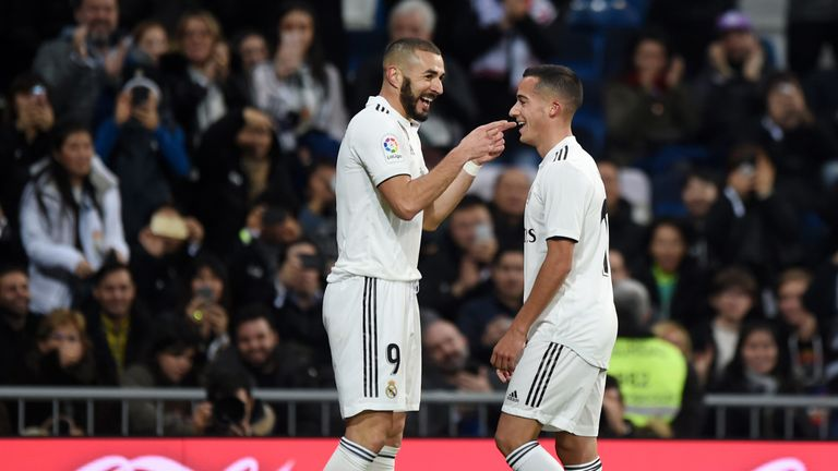 Karim Benzema's first-half strike was enough to seal all three points for Real Madrid