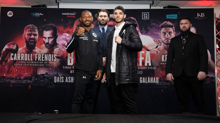 Kell Brook battles Michael Zerafa in the main event