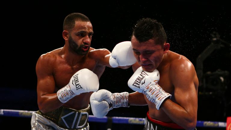 Kid Galahad (left) awaits an IBF world title shot