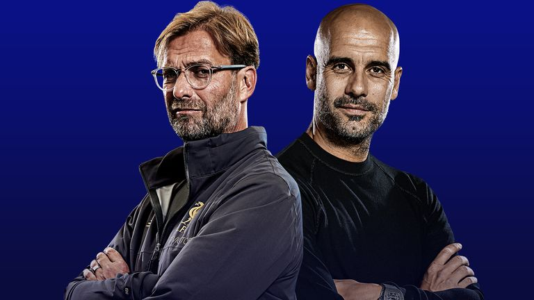 Jurgen Klopp and Pep Guardiola are vying for the title